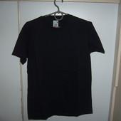 футболка мужская черная новая  m l ххл