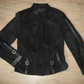 Женская замшевая куртка L