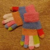 перчатки зимние для девочки