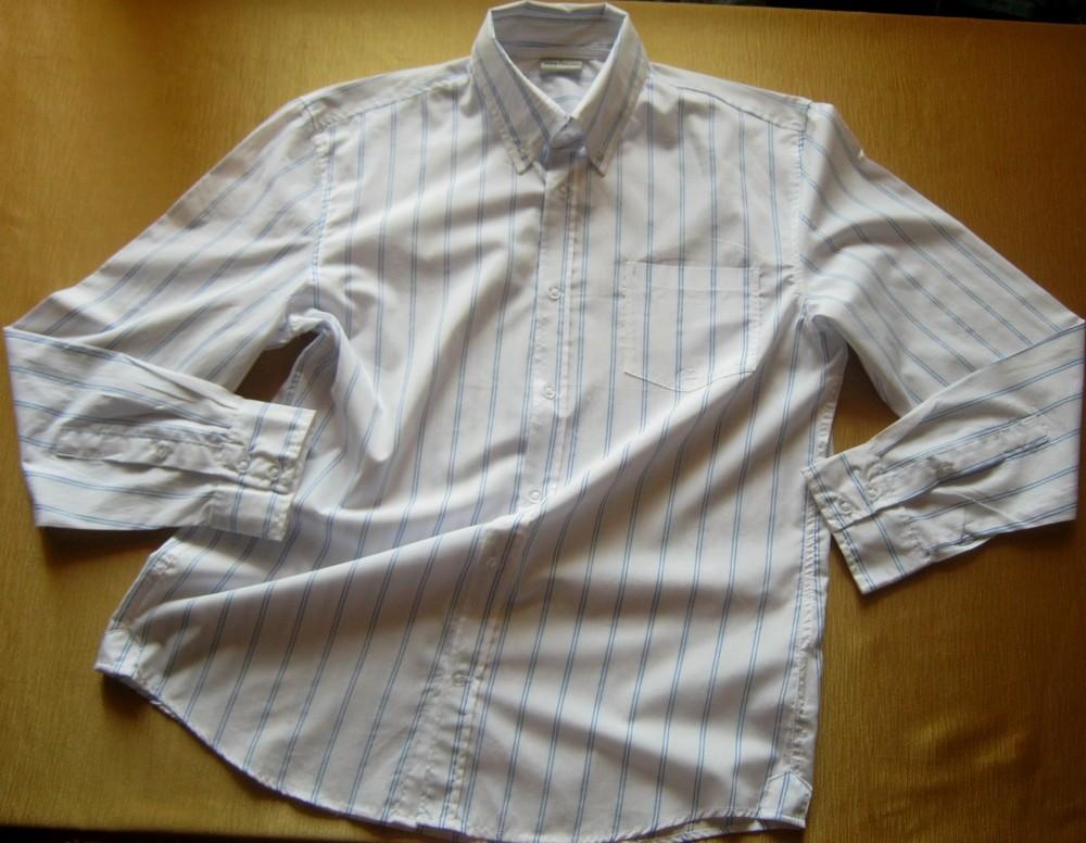 Классическая рубашка в полоску southern - размер l фото №1