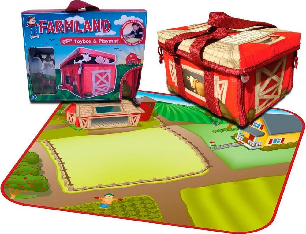 Распродажа - мини игровой набор-бокс особняк neat-oh ферма  мальчику девочке фермер фото №1