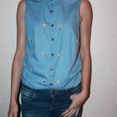 классная рубашка -майка  размер 8