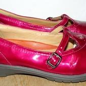 туфли кожа кларкс 24.5 см