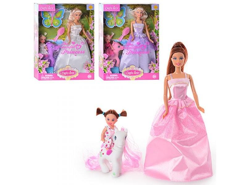 Кукла барби  defa 8077 с дочкой фото №1