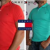 Новый завоз Тенниски Tommy Hilfiger хлопок пике Турция