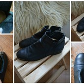 Стильные закрытые туфли-кожа Zara man,р-р 41