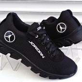 Кроссовки Jordan Чёрные