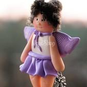 Куколка из глины Balerinka