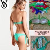 Купальники Victoria Secret*трусики бразилиана,лиф бандо с пуш ап в наличии