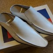 Туфли-шлёпанцы мужские