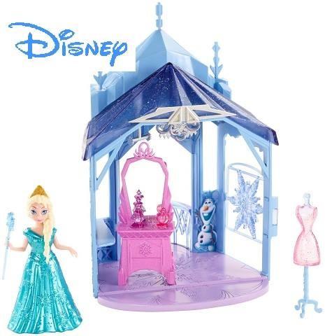 Игровой набор frozen - замок эльзы фото №1