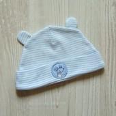 Новая шапочка для новорожденного. George. Размер 3-6 месяцев