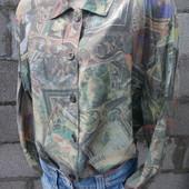 Оригинальная рубашка в стиле ретро 46/48/XXL-50 грн
