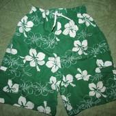 Фирменные шорты на мальчика 6-7 лет