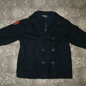 Теплое пальто для мальчика 3-4 лет Marks&Spencer