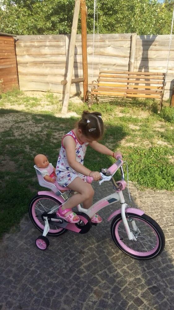 Кросер кидс байк 14 16 18 20 велосипед детский crosser kids bike девочки фото №1
