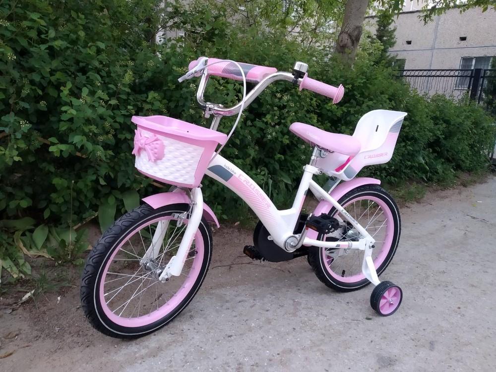 Кросер кидс байк 12 14 16 18  велосипед детский crosser kids bike девочки фото №1