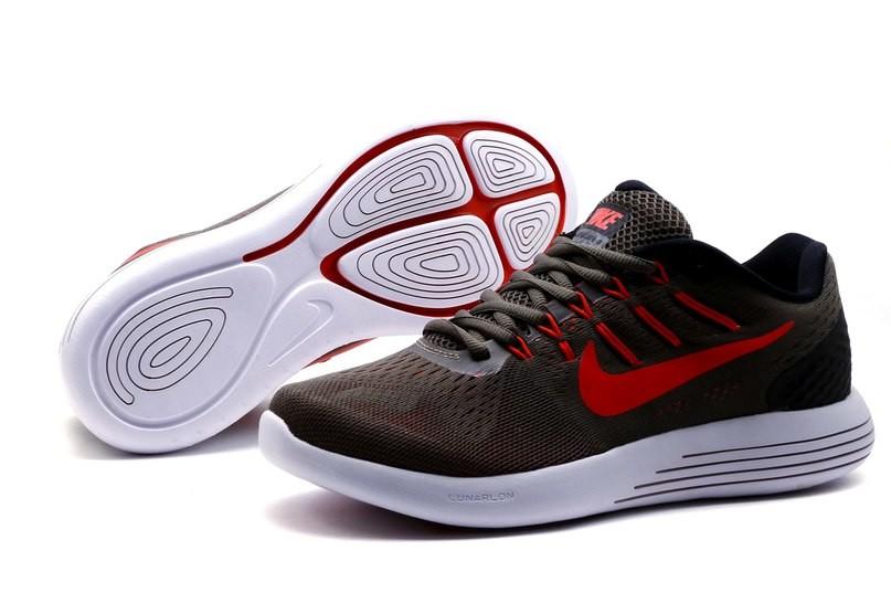 Кроссовки Nike Lunarglide 8, р. 40,41,42,43,44, два цвета, код kv-4219 фото №1
