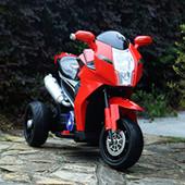 Мотоцикл детский красный