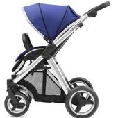 Прогулочная детская коляска BabyStyle Oyster max navy / mirror