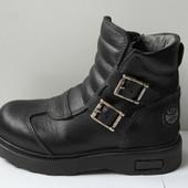 Качественные кожаные ботинки Nat's (Италия)