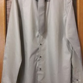 Новая Мужская рубашка NEXT ворот 42 с галстуком