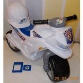 мотоцикл для катання 2-х колісний білий (набор) орион 501