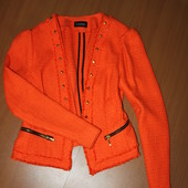 красивый яркий пиджак размер 12