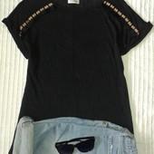 Шикарная футболка блуза в этно стиле от Pull&Bear, p.M/28