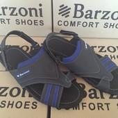 Удобные мужские сандалии С-11 синие