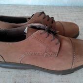 Туфли кожаные фирмы Bata р.42-27см.