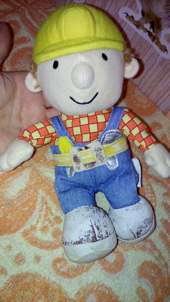 Мягкая игрушка боб строитель фото №1
