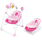 Колыбель-качели 3в1 Bt-sc-0005 Pink