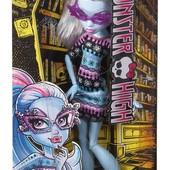 Кукла монстр монстер хай Эбби боминейбл серия Гик шик Куклы в очках Abbey bominable geek shriek