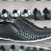 Новинка!!! Летние туфли Мужские натуральная кожа Код: Л-10 и 12