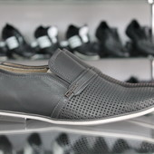 Новинка!!! Летние туфли Мужские натуральная кожа Код: Л-13 и Л-14