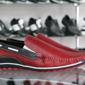 Новинка!!! Летние туфли,мокасины Мужские натуральная кожа модель:Код: Л-25,26 и 27
