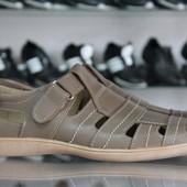 кожаные мужские босоножки,сандалии  3 цвета Код: Л-49,50,51