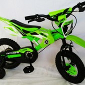 Детский велосипед мотобайк от 4-8 лет