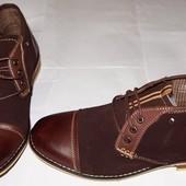 Ботинки - окcфорды новые кожаные N.Y.L.A. Качество!