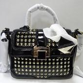 Кожаная сумка с заклёпками Rebecca Minkoff оригинал