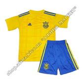 Оригинал!! Футбольная форма сборной Украины на Евро-2016 Adidas домашняя (1903)