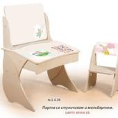 """Детская Парта """"Умница"""" арт.1.4.36"""