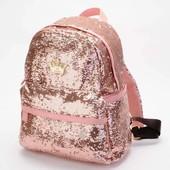 Блестящий рюкзачок