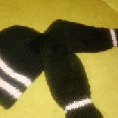 набор,шапка+ рукавички