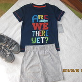 Matalan,летний набор на мальчика футболка+шорты ,Англия!