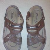 мужские сандали кожзам 29 см стелька