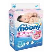 Подгузники Moony NB (до 5 кг) 90шт.