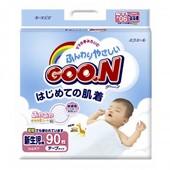 Подгузники Goo.N Унисекс на липучках SS для новорожденных до 5 кг, 90 шт.