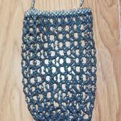 Гламурная сумочка для девочки из бусинок